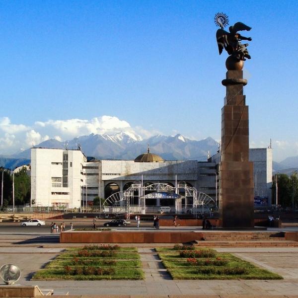 Автобус Омск — Бишкек