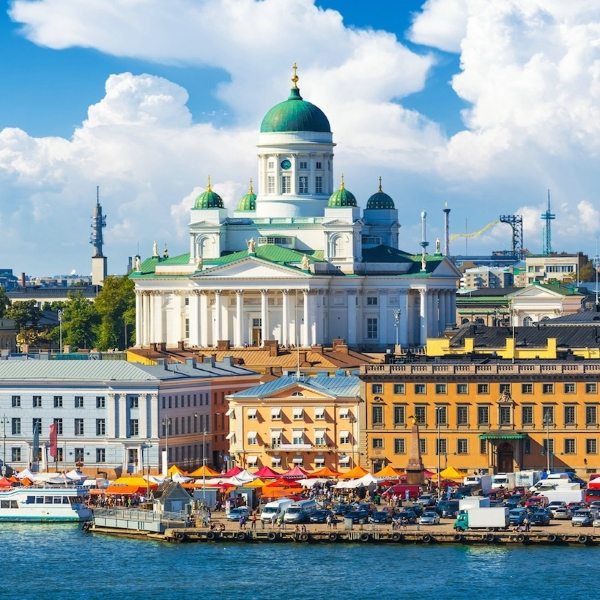 Автобус Санкт-Петербург — Хельсинки