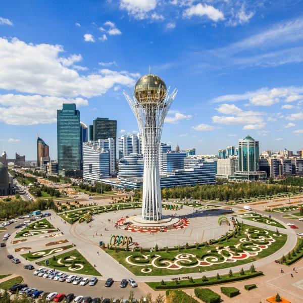 Автобус Тюмень — Астана